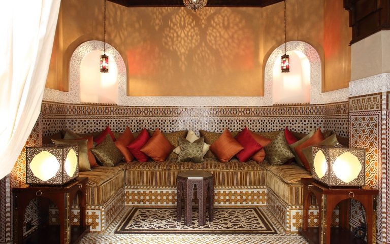 Luxurious riads at The Royal Mansour, Marrakech