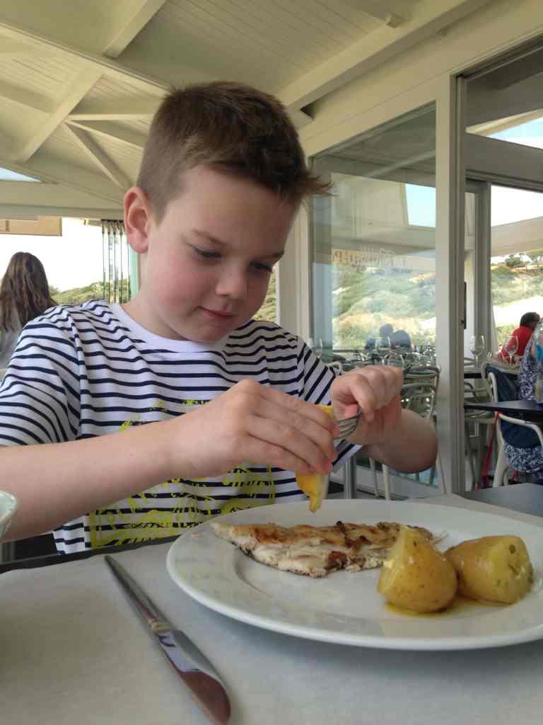 Evaristo restaurant Algarve portugal