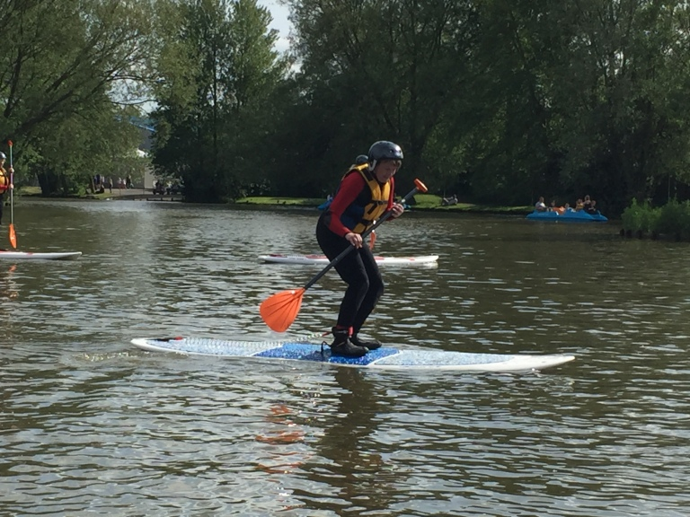 Primrose Valley review: Natalie tries paddle-boarding