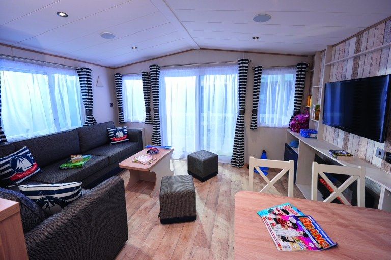 Haven review: Inside one of the platinum model caravans at Primrose Valley